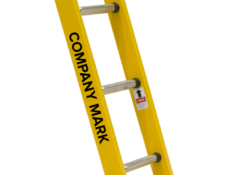 Company Mark – Single and Extension Ladders